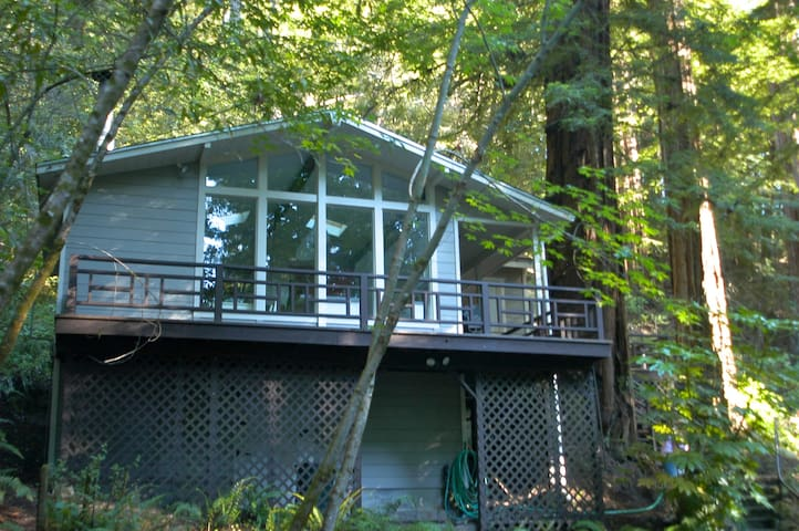 Caz Redwood Retreat - Cazadero - Kulübe