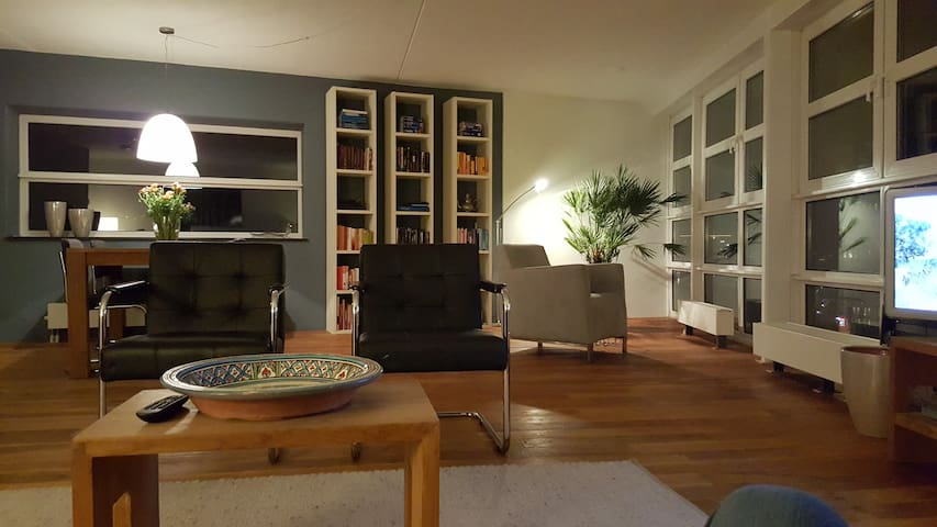 Nice Modern appartment close to Markethall - Roterdã