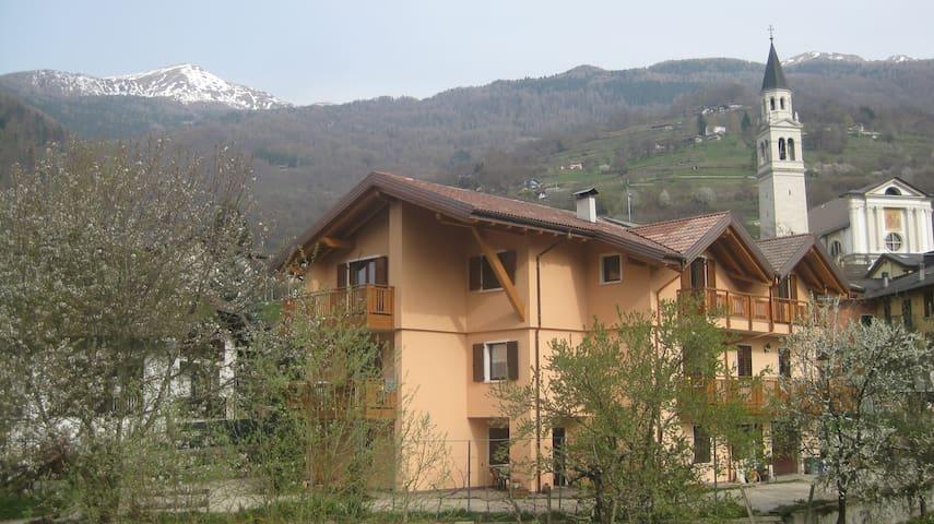 Bilocale al piano terra - Roncegno Terme - Lägenhet