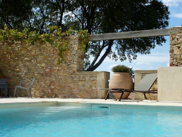 Maison vigneronne du 18 ème siècle - Boissières