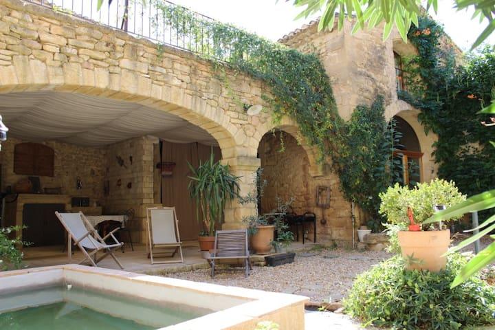 Ancienne Grange du XVIIIème siècle - Vers-Pont-du-Gard - Hus