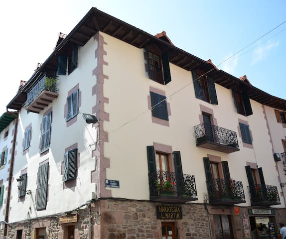 House built in 1537. Reformed. - Santesteban - Leilighet