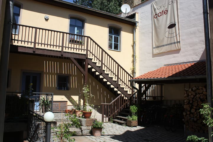 Room at the craftsman's courtyard - Wittenberg - Bed & Breakfast