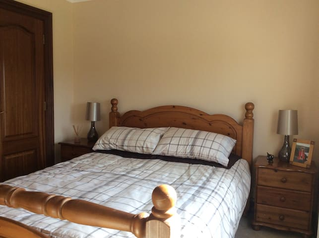 Double room with king size bed - Kirkcaldy - Дом