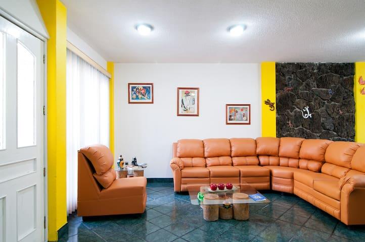 Comfy Room 10 mins UAM-Iztapalapa - 墨西哥城 - 獨棟