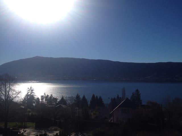 Appartement avec vue sur le lac à 180° - Veyrier-du-Lac - Apartament
