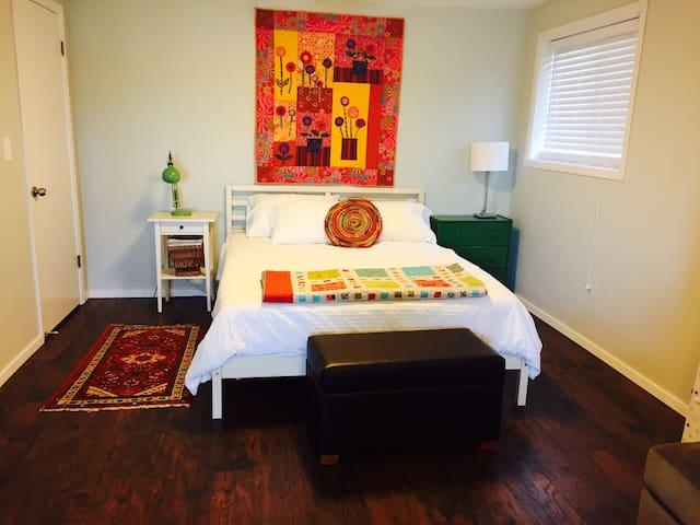 Spacious Studio In Our Urban Garden - Eugene - Appartement