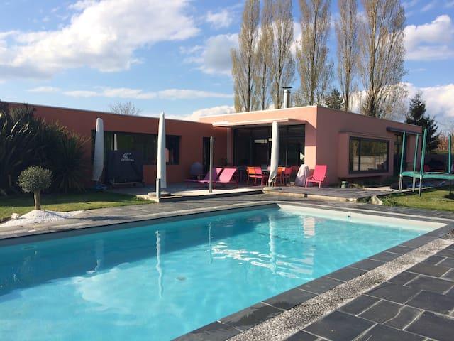 Maison d'architecte avec piscine - Luçon