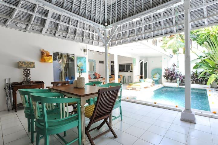 Private Family Villa & Pool 66Beach BALI Indonesia - Legian - Villa