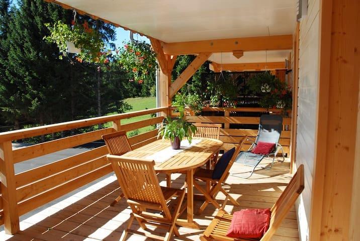 GITE NEUF AU COEUR DU PARC NATUREL DU HAUT JURA - Saint-Laurent-en-Grandvaux - Lägenhet