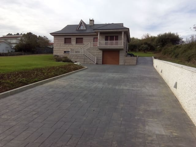 La casa rosada - Betanzos - Huis