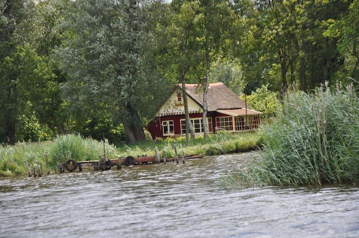 Toplocatie! Huis, zuidlaardermeer 1600 meter tuin - Midlaren - Huis