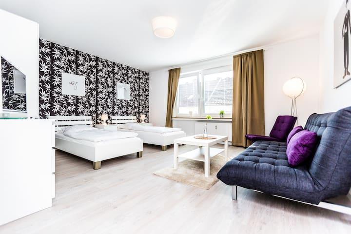92 Apartamento Messe en Colonia Deutz 4 - Colonia - Departamento