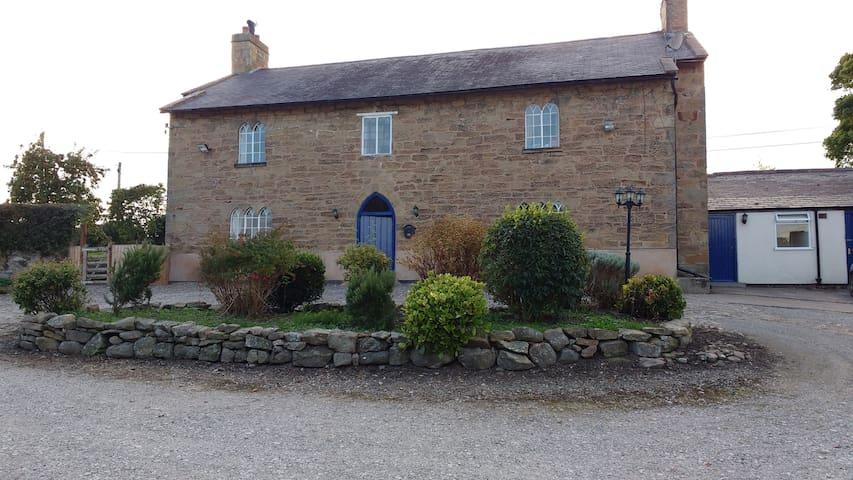 400yr old farmhouse B&B in Rural North Wales - Nercwys - Oda + Kahvaltı