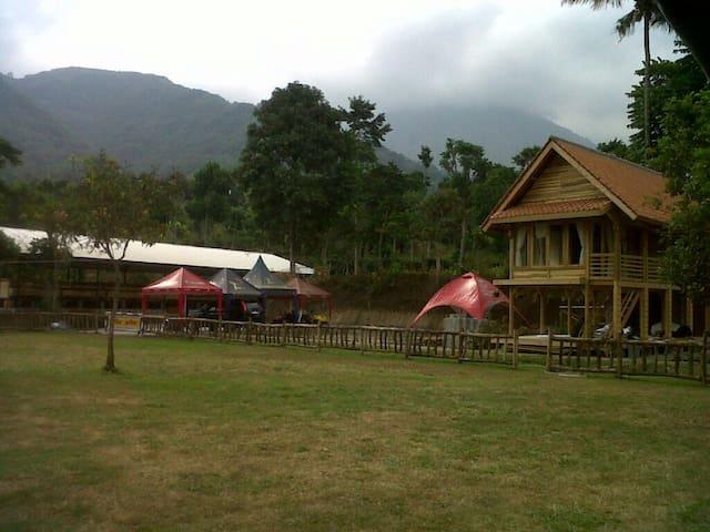Amazing view from your seat - Tarogong Kaler, Garut