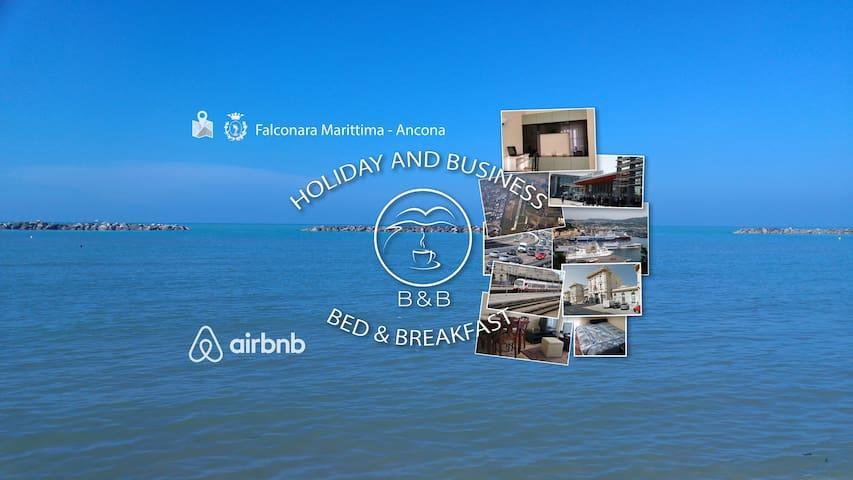Near to the Sea, Cozy Room - Bed&Breakfast - Falconara Marittima - Appartement