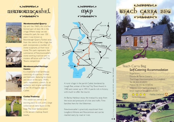 Teach Carra Beg(House of friend) - Newtowncashel - Cabane