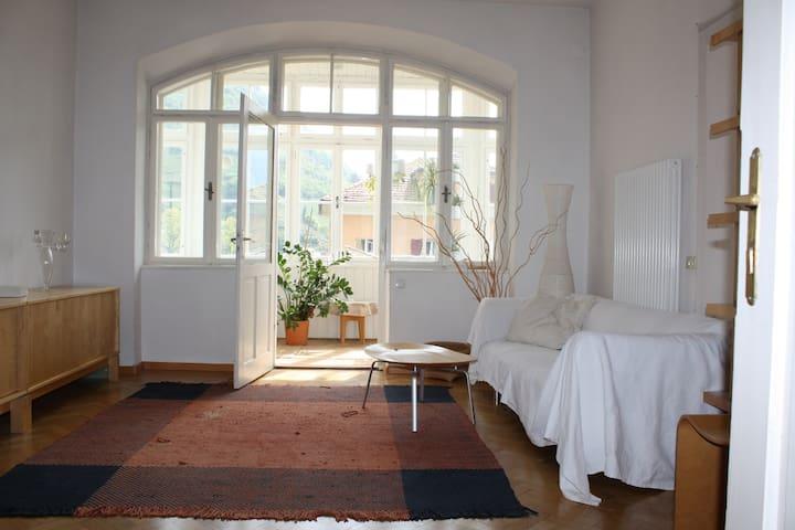 Schönes Zimmer Zentru(SENSITIVE CONTENTS HIDDEN)ähe Bella stanza privata - Bozen - Lägenhet