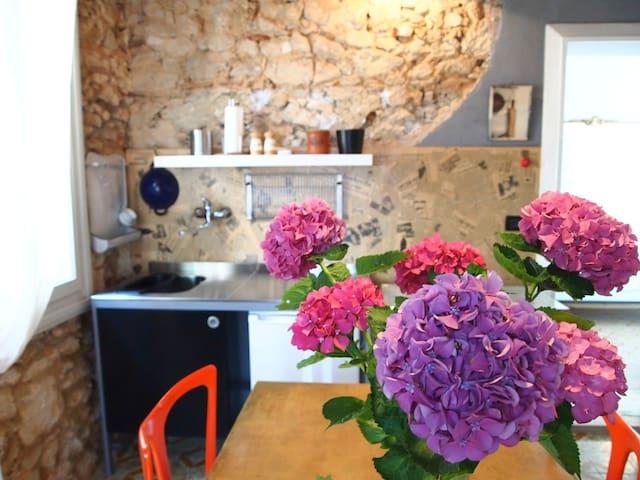 Romantic flat with private garden - Piovene Rocchette - Casa