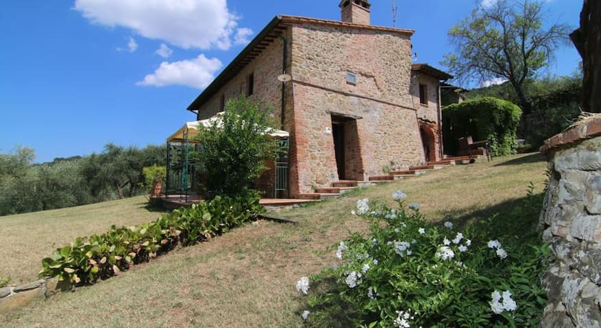Charming and cozy apartment in Paciano - Paciano - Lejlighed