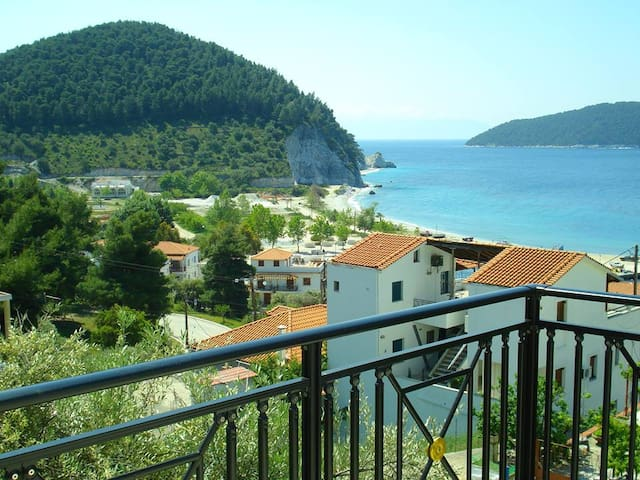 Double room perfect for couples at Skopelos - Neo Klima - Apartamento