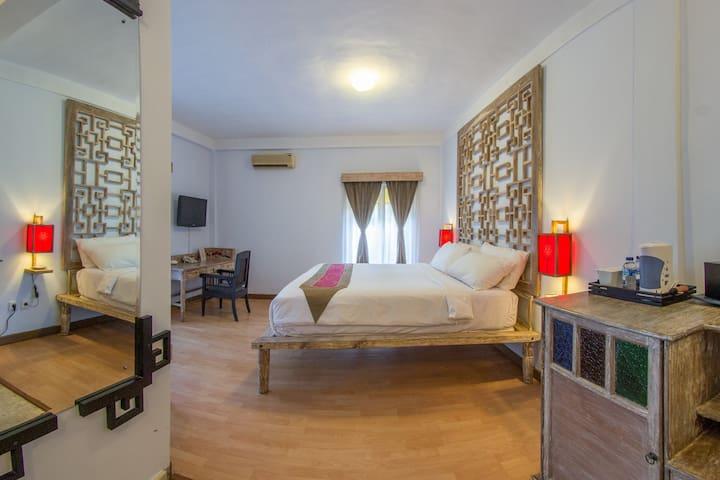 Room close to Seminyak and Canggu - North Kuta - Lägenhet