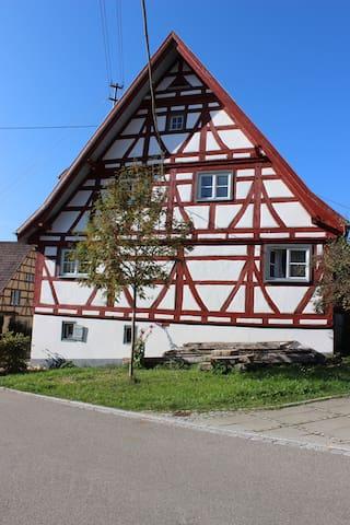 """Ferienhaus """"Mühlewinkel"""" - Stetten am kalten Markt - Leilighet"""