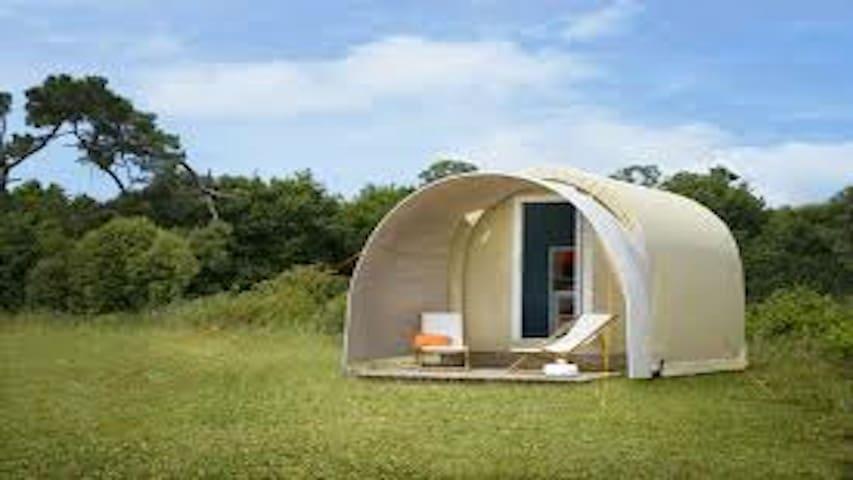 Cocooning en solo ou duo dans camping zen - Épinal - Bungalow