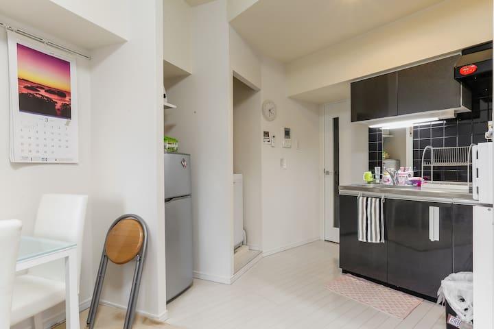 Cozy studio room ☆metro station 1 min☆彡 - Shinjuku-ku - Lägenhet