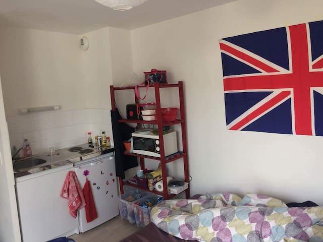 Studio meublé Pontivy - Pontivy - 公寓