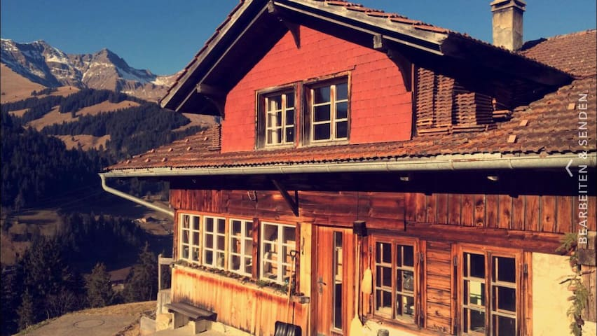Alpcottage feeling in the beauty of the mountains - Adelboden - Rumah