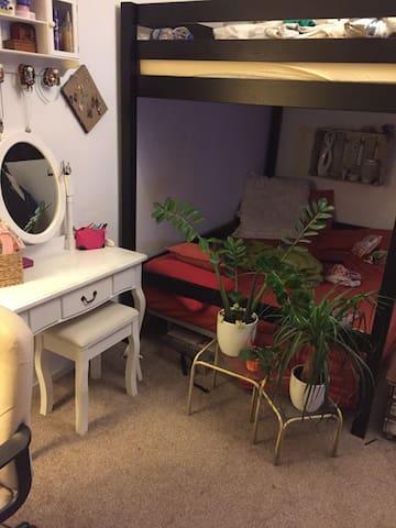 Gemütliche 1-Raumwohnung - Maagdenburg - Appartement
