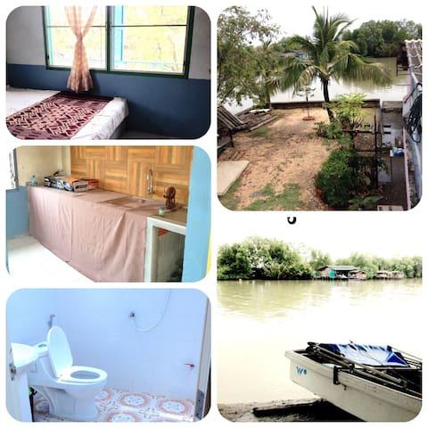 บ้านพักริมน้ำ - Nakhon Si Thammarat - Ev
