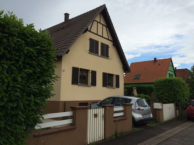 Furnished house in Plobsheim - Plobsheim - Huis