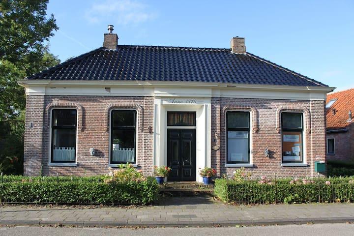 """Rentenierswoning """"De Ploegstee"""" in Wehe-den Hoorn - Wehe-den Hoorn - Huis"""