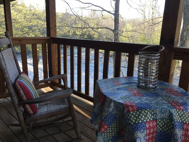Rustic Comfort on the Little River in the Smokies! - Townsend - Bed & Breakfast