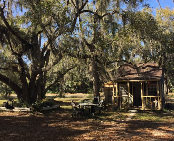 Artist's dream cabin under the oaks - Santa Rosa Beach