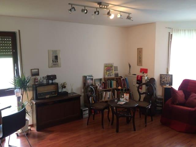 Schönes, kleines Apartment // FR-Unterwiehre - Freiburg - Lägenhet