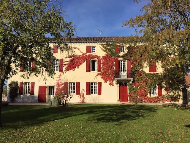 Maison de charme, ensoleillée, joliment décorée - Brassempouy - Hus