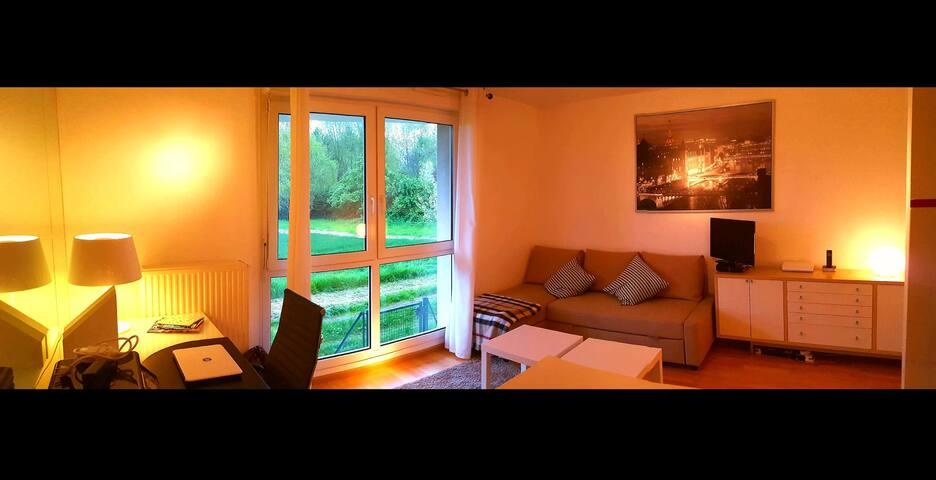 Studio Strasbourg Robertsau calme en pleine nature - Strasbourg - Lägenhet
