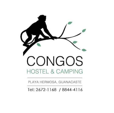 Congos Hostel & Camping - Playa Hermosa - Гестхаус