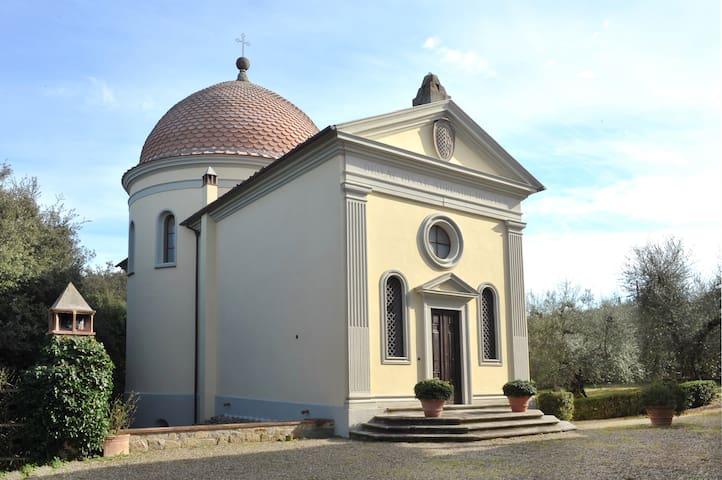 Firenze- Red chapel (with swimming pool) - Impruneta