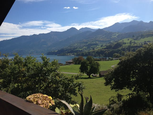 Studio for 2 persons with view - Faulensee - Casa