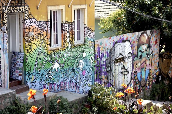 Pieza en Cerro Alegre, ubicación privilegiada. - Valparaíso - Talo
