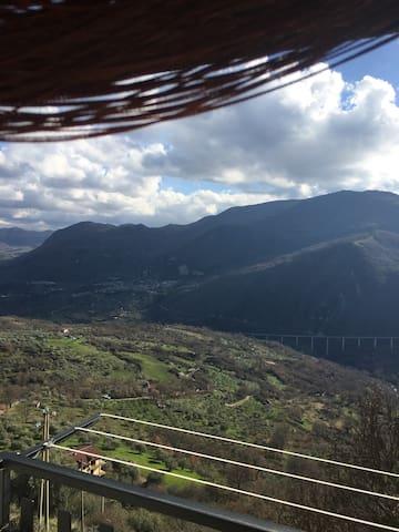 Vista stupenda 40 minuti da salerno - Savoia di Lucania - Apartemen