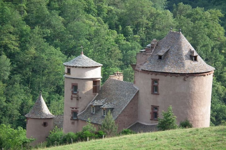 13th & 16th Castle in Aveyron - Villecomtal