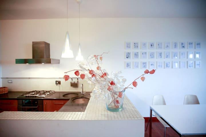 Designer's house on the hillside  - Pino Torinese - Appartement