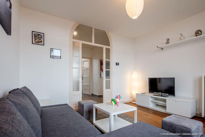 Magnifique appartement à 10 min à pied du centre - Thonon-les-Bains - Wohnung