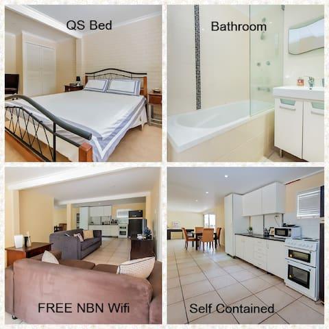 Self Contained|Free NBN|East Mackay - East Mackay - Casa