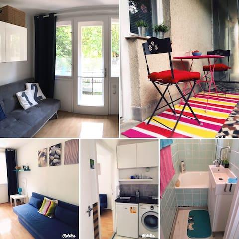 Fiatalos modern apartman központi helyen - Balatonfüred - Condomínio